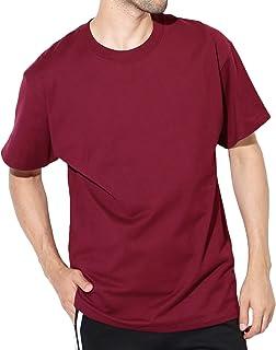 Hanes(ヘインズ) BEEFY-T Tシャツ ビーフィー 半袖 コットン 無地 US規格 XL マルーン