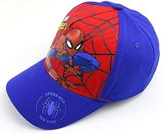 JCBD Kids Low Profile Spiderman Baseball-Cap Twill Adjustable Dad-Hat with Buckle Strap