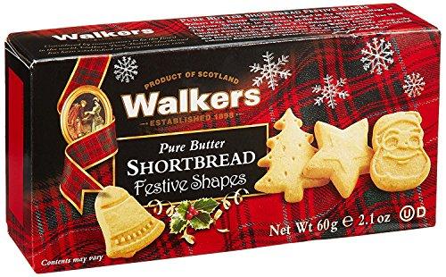 三菱食品 ウォーカー ウォーカー フェスティブシェイプ ショートブレッド#1548 3個