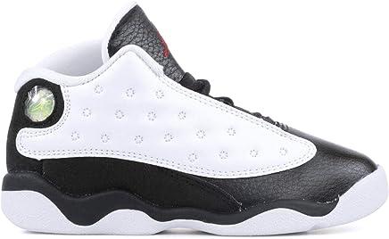 separation shoes ad97c 75d8c Nike Jordan 13 Retro Kids TD He Got Game White Black True Red 414581