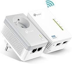 TP-Link TL-WPA4225KIT - 600Mbps Enchufe Frances Adaptador de comunicación por línea eléctrica, Blanco