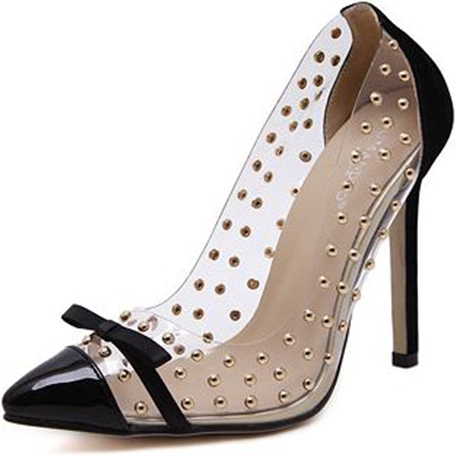 SUNNY Store Women's New Latest Fashion Pump Pointy Toe Evening Kitten Heel shoes New Without Box