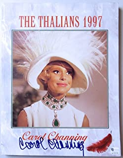 Carol Channing Signed Autographed Program The Thalians 1997 JSA II59816