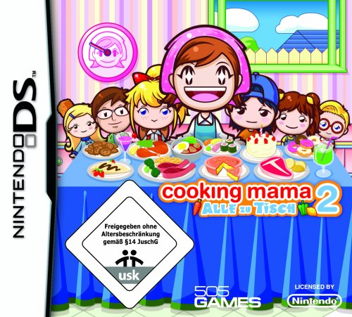 THQ  Cooking Mama 2: Dinner with Friends (DS)