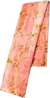 Best peach color chiffon saree Reviews