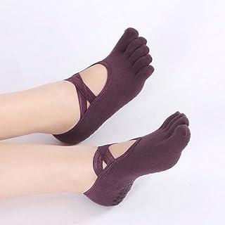 Ballet Cross-Covered Backless Non-Slip Handrail for Women 3 Pairs/Package Yoga Socks,Fully Breathable