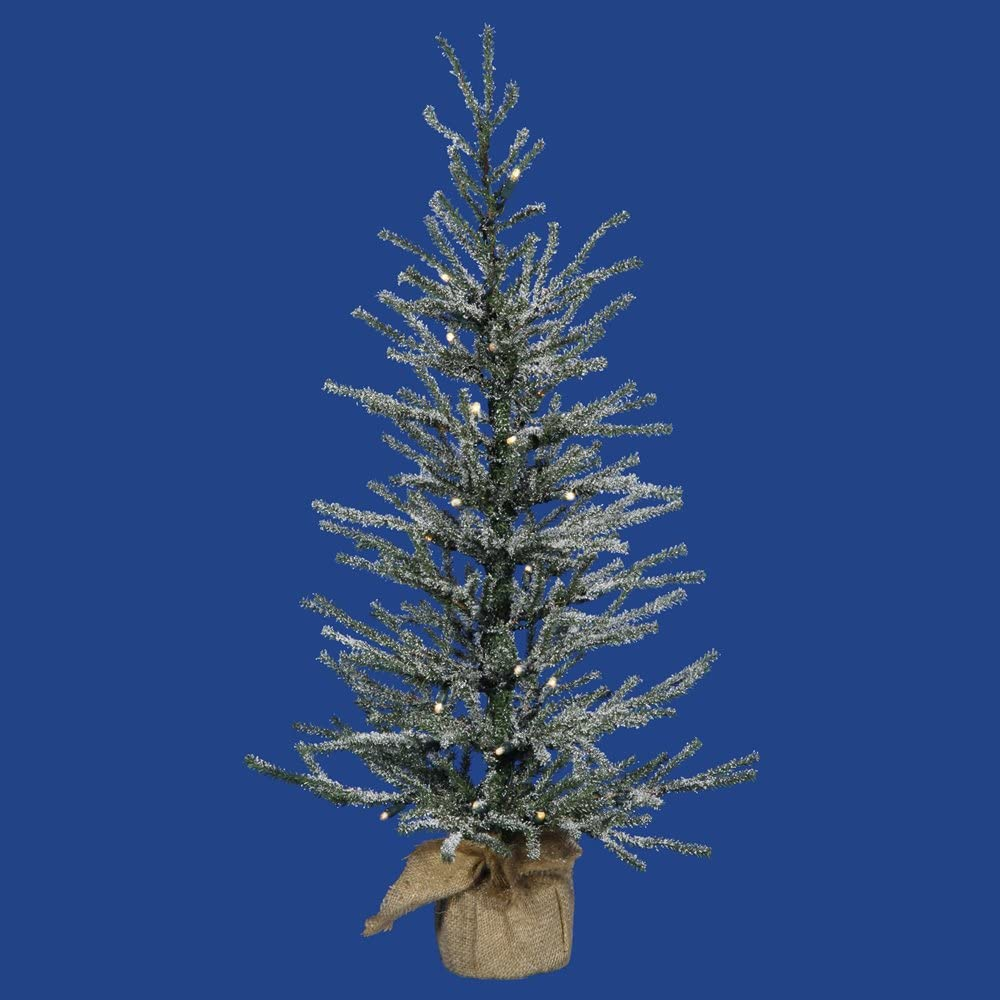 Vickerman Angel Pine Ranking TOP18 Frosted Tree 2021new shipping free Tabletop 48-Inch