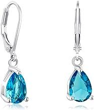 aqua colored stone jewelry