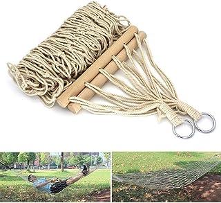 Tie Rope + Custodia LIOOBO Amaca Singola Multifunzione Portatile amache multifunzionali Tela 280x100cm per Viaggio in Campeggio