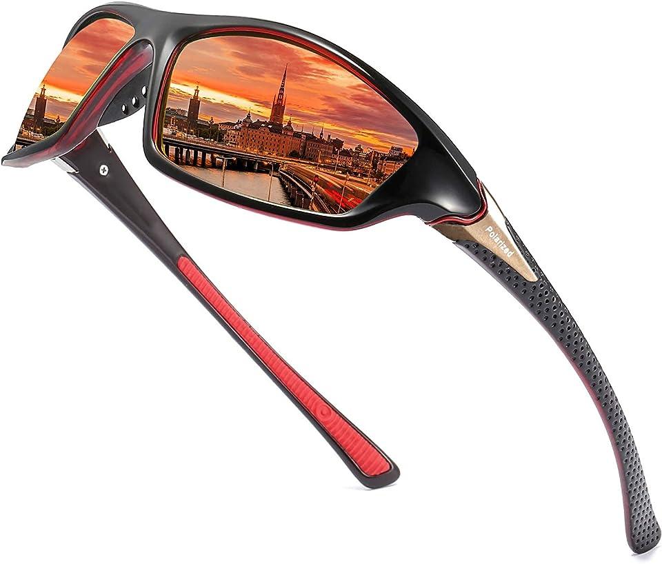 Polarisierte Sonnenbrille Herren/Damen ; Vintage/Klassisch/Elegant Brillengestell; HD-Pilotobjektive; Golf/Fahren/Angeln/Reisebrille/Outdoor-Sportarten Mode Sonnenbrille