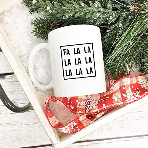 Fa La La La La La La La Christmas Mug, Christmas Carols, Christmas Songs, Christmas Coffee Mug, Christmas Gift 11 oz Coffee Mug