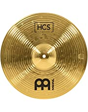 "Meinl 14"" Crash Cymbal – HCS Traditional Finish Brass for Drum Set, Made In Germany, 2-YEAR WARRANTY (HCS14C)"