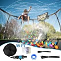 Trampoline Sprinkler Waterpark 39 FT Automatic Spray