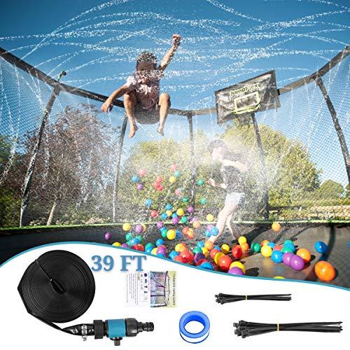 Trampoline Sprinkler Waterpark - Outdoor Cooling System Now $11.99