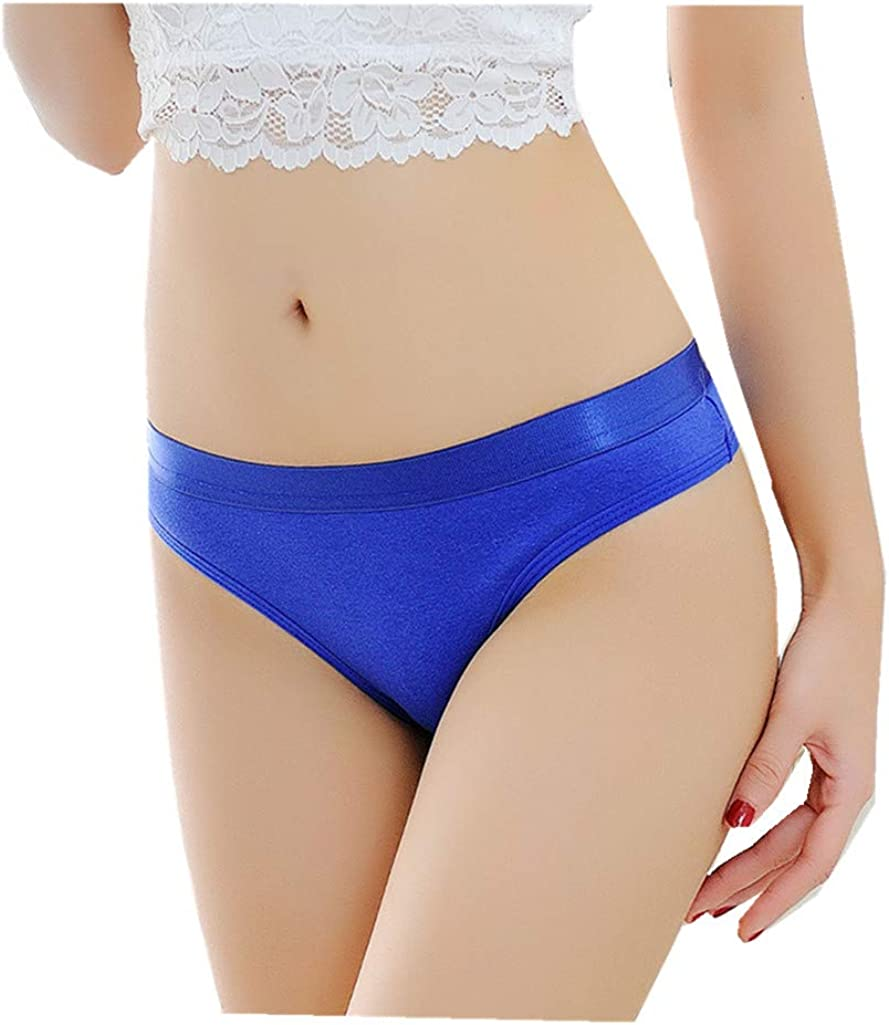 Lethez 2021 new Women Briefs Solid Panties Lingerie Reservation G-String Under Thongs