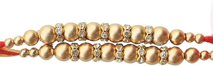 Best gold rakhi design Reviews
