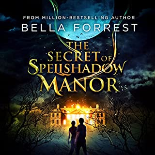 The Secret of Spellshadow Manor audiobook cover art
