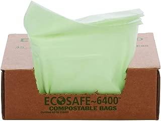 """Stout by Envision E2430E85 EcoSafe-6400 Bolsas compostables, Verde, 13 Gallon 24"""" x 30"""""""