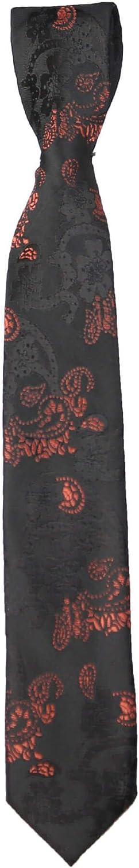 Paisley Motif Cachemire Dans Diverses Couleurs SIRRI Cravates Gar/çons Formelles En Polyester