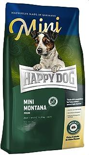 HAPPY DOG (ハッピードッグ) スプリーム・ミニ モンタナ (馬肉) グルテン、グレインフリー 小型犬用 アレルギーケア 成犬〜シニア (4kg)