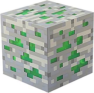 LED Diamant Briller Lumière de Jouets pour Minecraft, Glow Pierre Ore Cube, Pixel Mur Torche, Éclairage Décoloration Potio...
