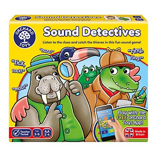 bon comparatif Orchard Toys – Sound Detectives Sound Board Games – Téléchargement d'application, 078,… un avis de 2021