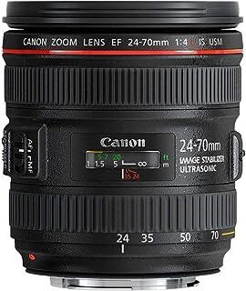 Canon EF 24-70mm f/4L IS USM - Objetivo para Canon (Distancia Focal 24-70mm Apertura f/2.8-22 Zoom óptico 2.8Xestabilizador diámetro: 77mm) Negro