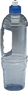 Arrow 1-Liter (33.9-Ounce) Clear BPA-Free Water Bottle Traveler Leak Proof