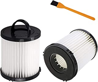 Hongfa Replacement Eureka DCF21 Vacuum Filter,2 Pack Dust Cup Filters for Eureka AS1000 AS1040 3270 3280 4230 4240, 8810, 8860 Upright Vacuums,Compare to Part # 67821, 68931, 68931A, EF91, DCF-21
