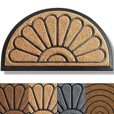 Extra Durable Door Mat - Front Door Mat Outdoor - Welcome Mats for Front Door - Non-Slip Doormat (30x18) - Rubber Floor Mats/Door Mats for Home Entrance - Welcome Mat - Outdoor Rug/Outdoor Mat