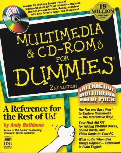 Compare Textbook Prices for Multimedia & Cd-Roms for Dummies: Interactive Multimedia Value Pack 2nd Edition ISBN 9781568849089 by Rathbone, Andy
