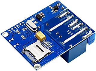 IUwnHceE 2-kanals relä-bräda fjärrkontroll relämodul relämodul GSM