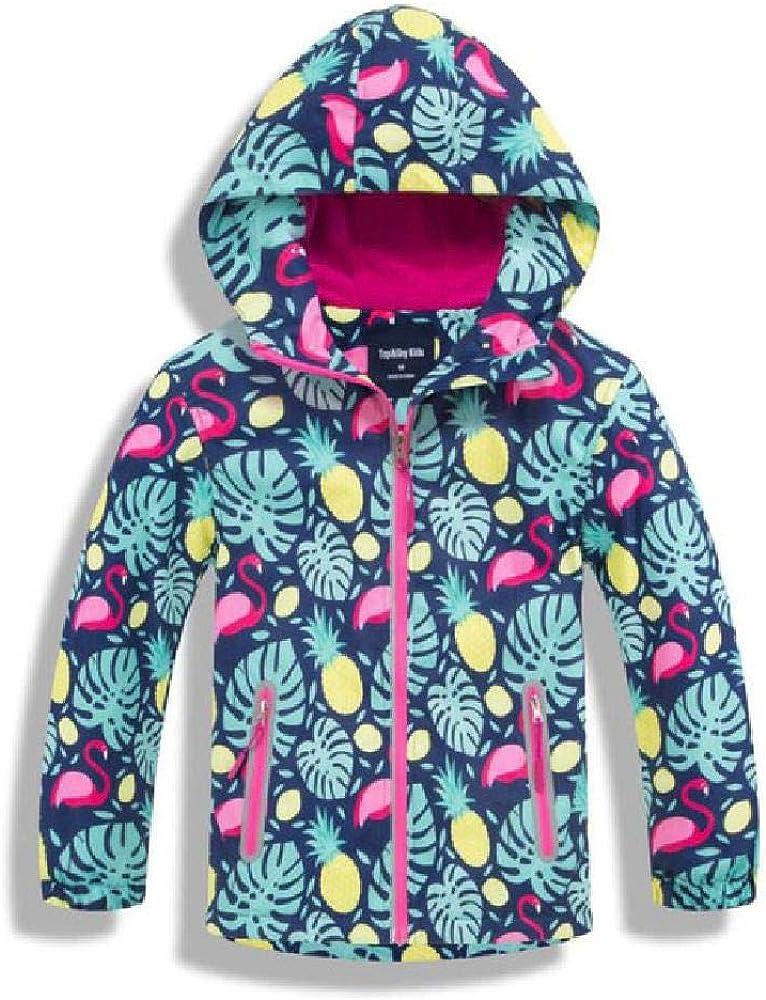 ZRUIYY Girls Waterproof Jackets Outerwear Sport Jacket