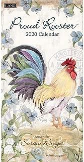 Proud Rooster 2020 Slim Wall Calendar