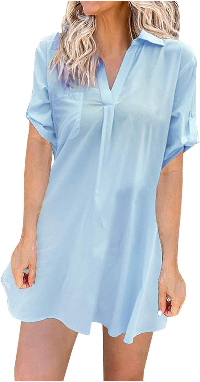 Womens Summer Dress, Women's Swimsuit Cover ups Summer Bathing Suit Beach Coverups Beach Casual Dress