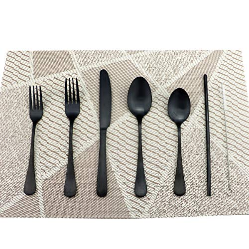 Eslite Stainless Steel Silverware Sets,25 Piece,Service for 5