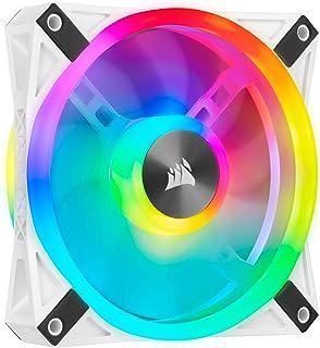 Corsair iCUE RGB LED PWM Fan,White,CO-9050103-WW, iCUE QL 120mm