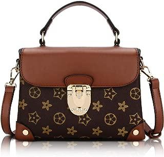 Women Shoulder Purse Retro Leather Crossbody Bag Waterproof Shoulder Handbags for Women