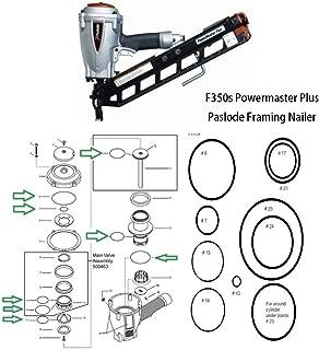 O-Ring Rebuild Kit for F350s Powermaster Plus Paslode Framing Nailer