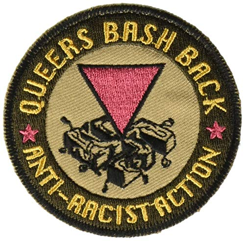 Queers Bash Back, LGBTQ Artwork Embroidered Iron On Patches, 3