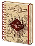 A5 Notebook Harry Potter (the Marauders Map)