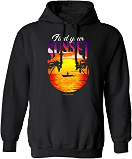 Koloa Surf Mens Find Your Sunset Outrigger Collection - Black