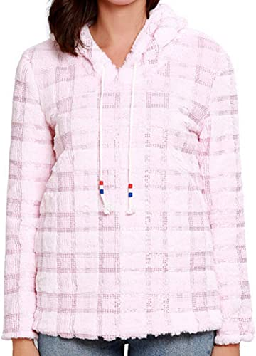 ZJSWCP Sweat-Shirt Sweat à Capuche en Perles pour Femmes à Manches Longues - Sweat-Shirt en Mousseline de Soie - Chemisier Haut Unisexe femmes bleuza Damska Felpe femmes 10