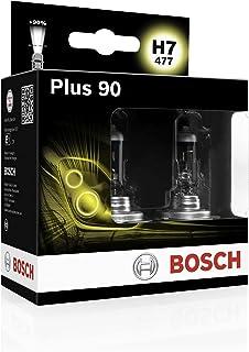 Bosch Headlight Bulbs Plus 90 H7 12V 55W PX26d (Bulbs x2)