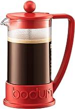 BODUM 10948-294 Brazilië Franse pers koffiezetapparaat, 0,35 L - rood