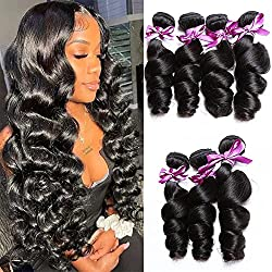 commercial Brazilian Virgin Hair Bundle Loose Human Hair Bundle 8A 100% Human Hair Bundle Loose… good hair bundles