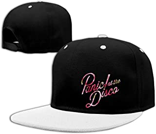DOUBLEBNM NA Unisex LunaCp Panic at The Disco Flower Flowers Snapback Hats Red
