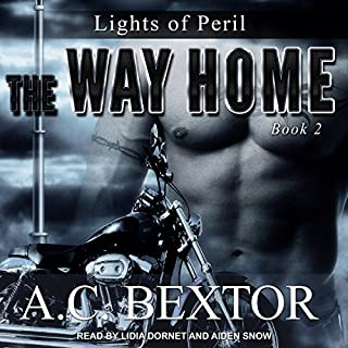 The Way Home     Lights of Peril, Book 2              By:                                                                                                                                 A.C. Bextor                               Narrated by:                                                                                                                                 Aiden Snow,                                                                                        Lidia Dornet                      Length: 7 hrs and 56 mins     65 ratings     Overall 4.4