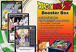 2014 Dragon Ball Z TCG Trading Card Game Sealed Booster Box (24 Packs) DBZ