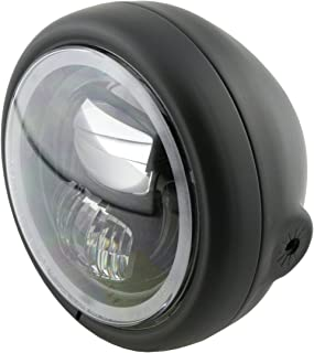HIGHSIDER Pecos Typ 7 Motorrad 5 3/4 Zoll LED Scheinwerfer mit Slr, E geprüft